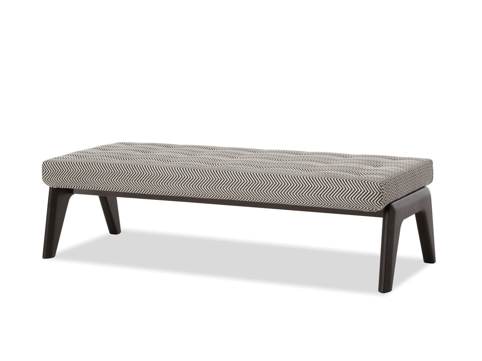 Upholstered fabric bench Kirk Collection by Minotti | design Rodolfo ...