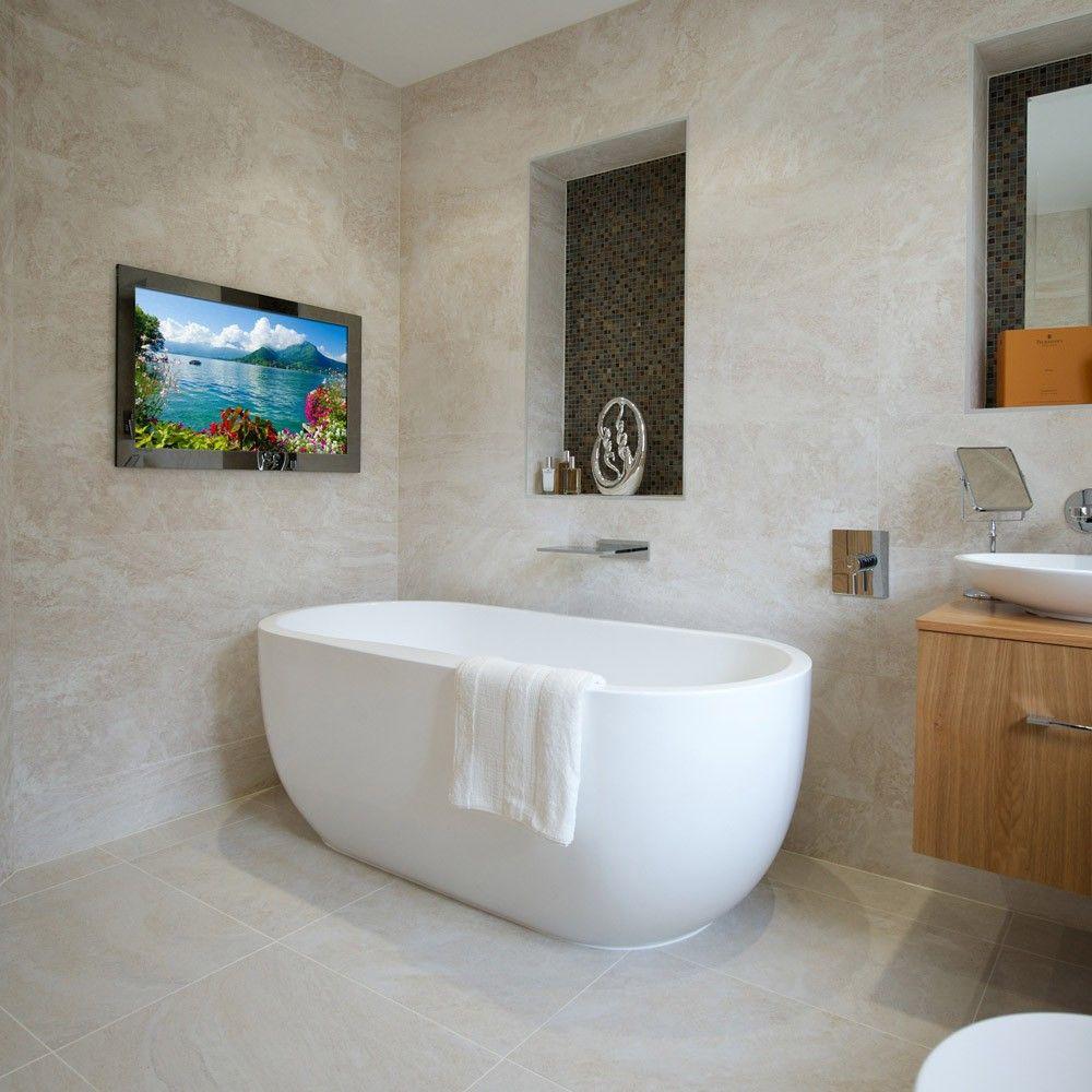 32 Bathroom Tv Tv In Bathroom Small Bathroom Bathroom