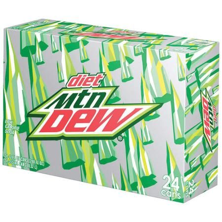Diet Mountain Dew Soda, 12 fl oz, 24 pack justin r mitchem