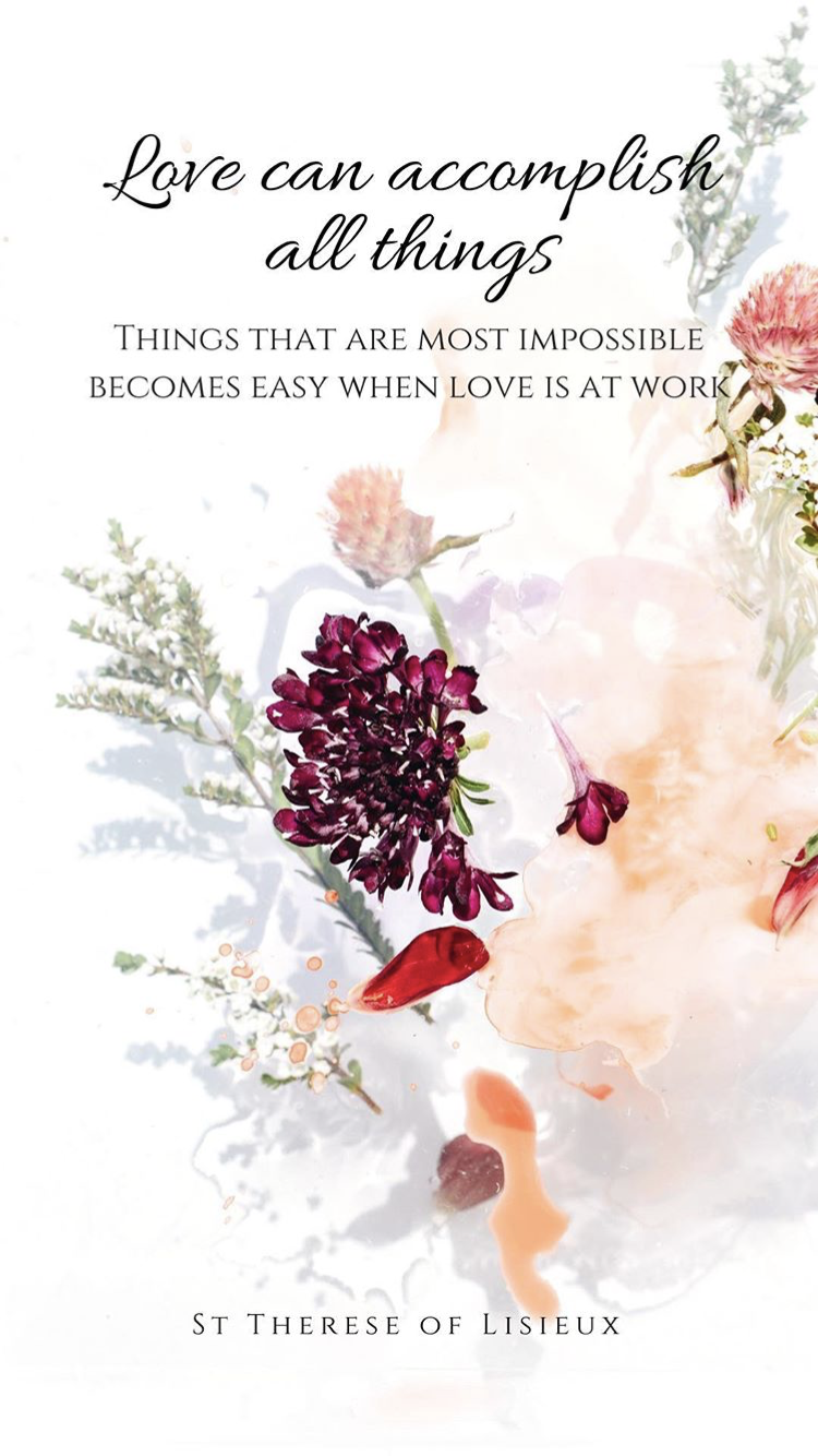 011018 Feast Of St Therese Of Lisieux The Power Of Simplicity And Of Humility Like A Little Child Simple Hear St Therese Of Lisieux St Therese Saint Quotes