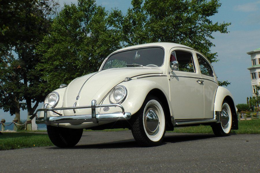Classic VW Beetle Another Pearl White 1962 Classic VW