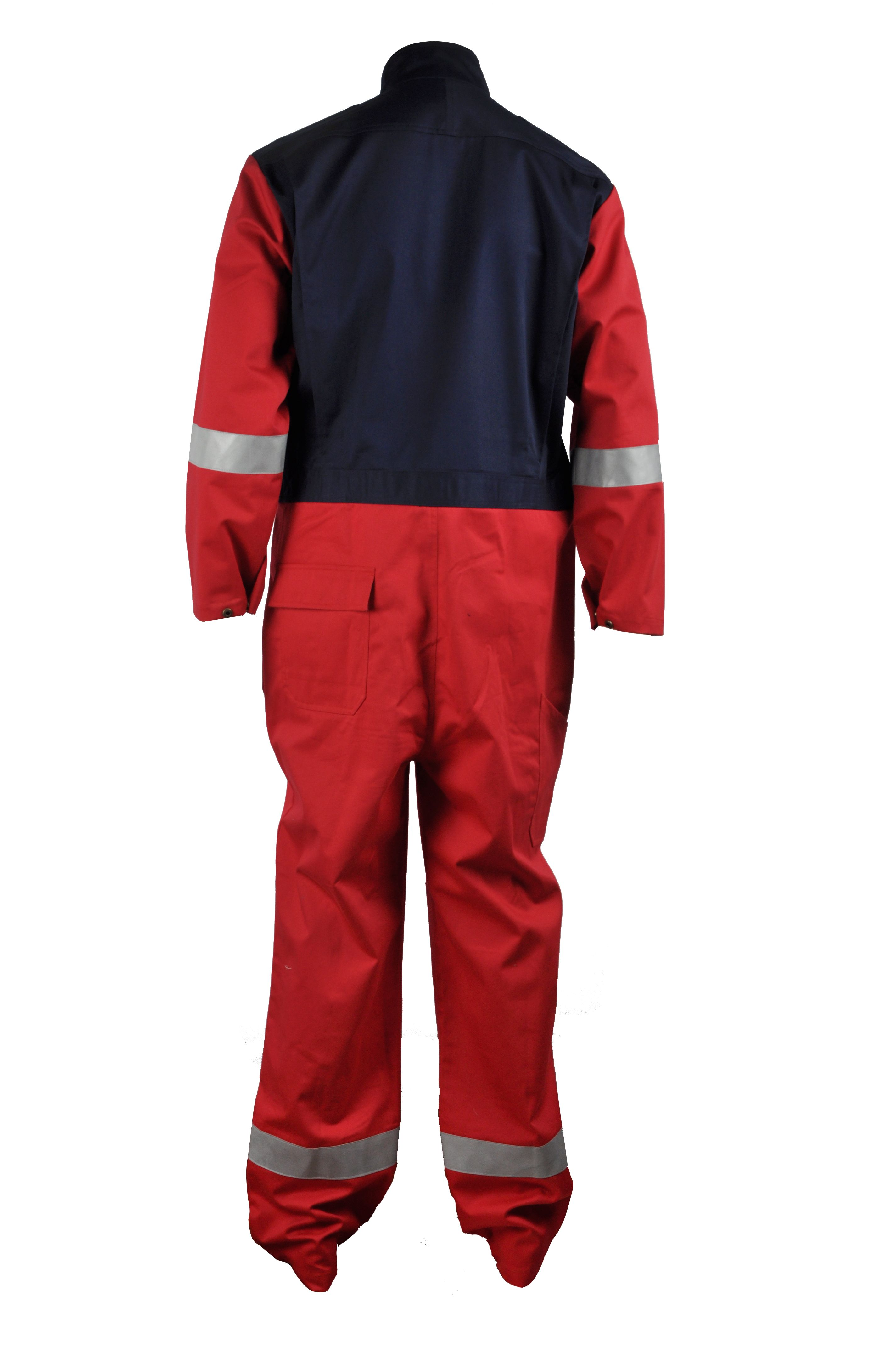 b6ad5fcc164c workwear-xinkeprotective  two tones coverall with reflective tapes ...