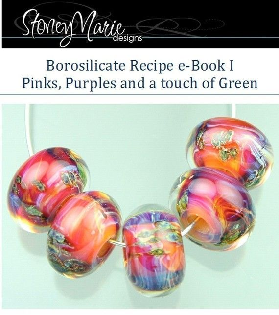 stoneymarie boro glass lampwork bead recipe ebook tutorial
