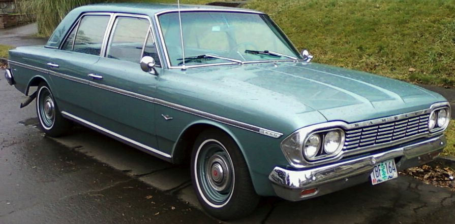 My First Car A 1964 Rambler Classic 660 It Looked Exactly Like This One Classic Cars Trucks American Motors Amc