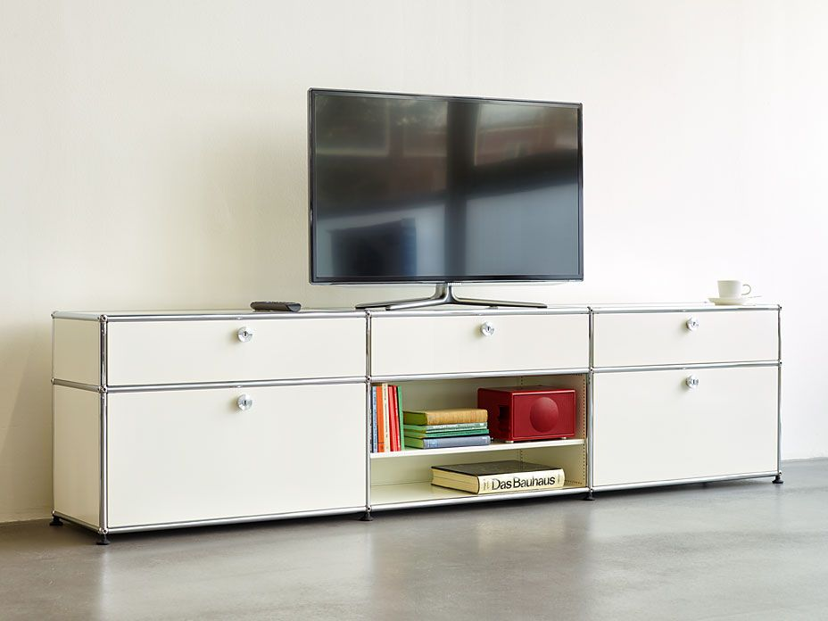 Usm haller hifi google search tv bord pinterest for Sideboard usm