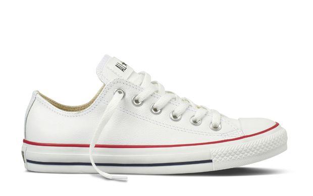 zapatillas converse blancas de cuero