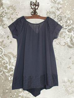 6015674c3abb8 patron gratuit tunique grande taille | Costura | Couture, Tunique ...