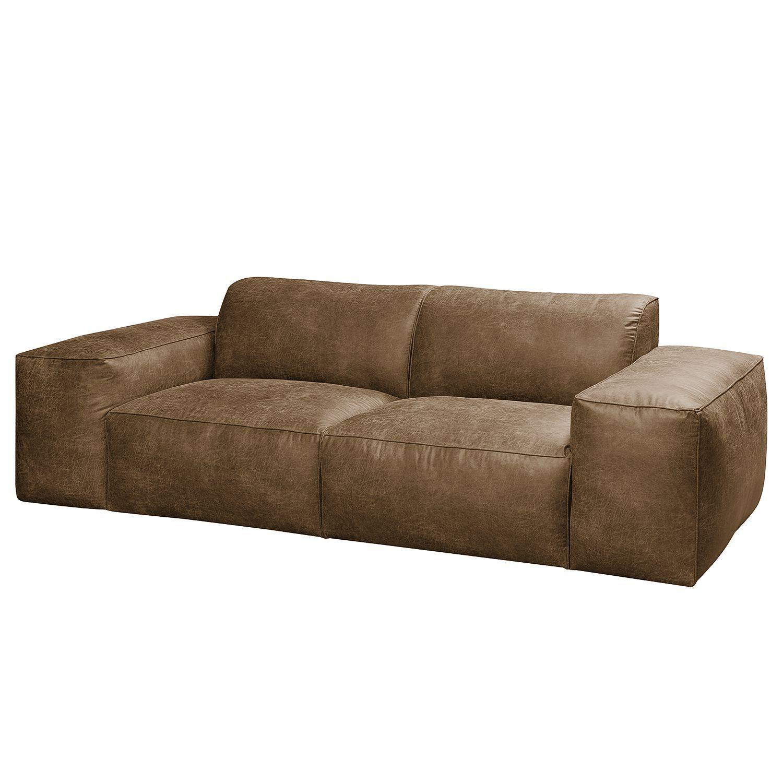 Bigsofa Manchester Antiklederlook Big Sofa Kaufen Sofas Sofa Leder Braun