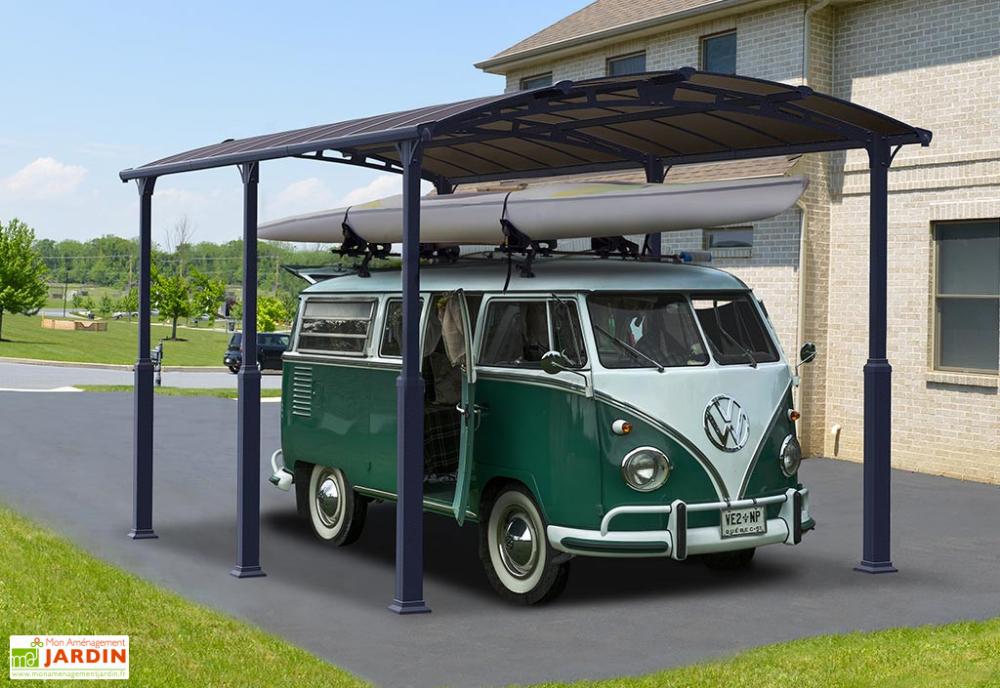 Carport CampingCar Aluminium/Polycarbonate Alpine 6400 23