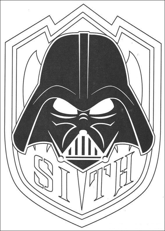 Ausmalbild Star Wars Star Wars Ausmalbilder Pinterest