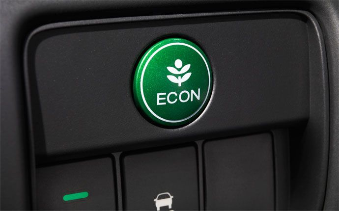 The Econ On Is Standard Every Accord When You Re In Mode Your Configures Its Systems To Use Less Energy