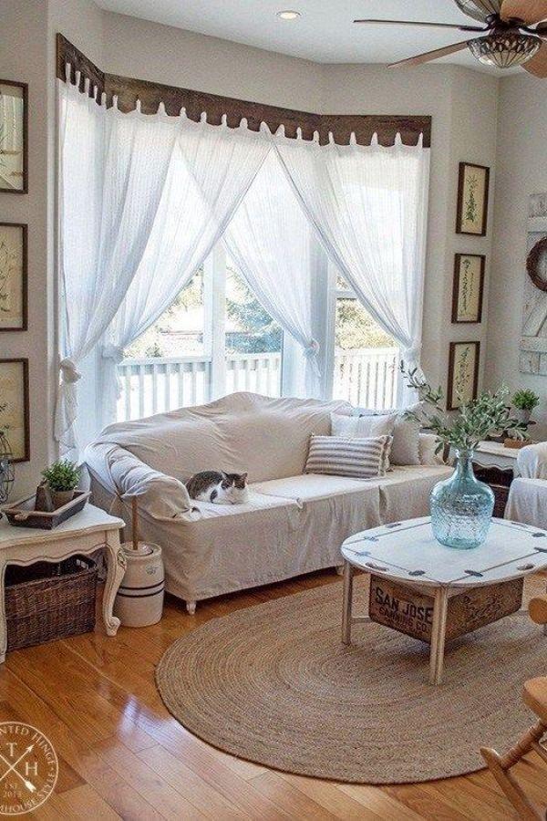 28 Popular Farmhouse Kitchen Curtains Decor Ideas ... on Living Room:rabldsgvkje= Farmhouse Curtain Ideas  id=19066