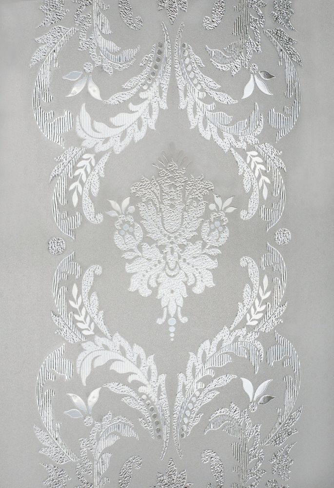 New 12x83 Chateau Etched Glass Sidelight Window Film Vinyl Static