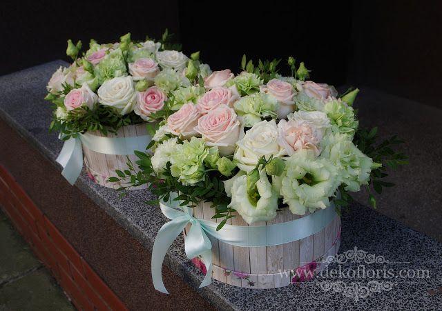 Flower Box Podziekowania Dla Rodzicow Slub Opolskie Floral Floral Wreath Wreaths