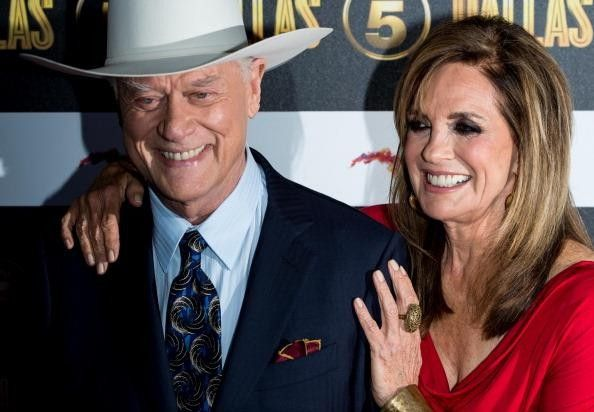 Larry Hagman and Linda Gray | Shows and people I like ...
