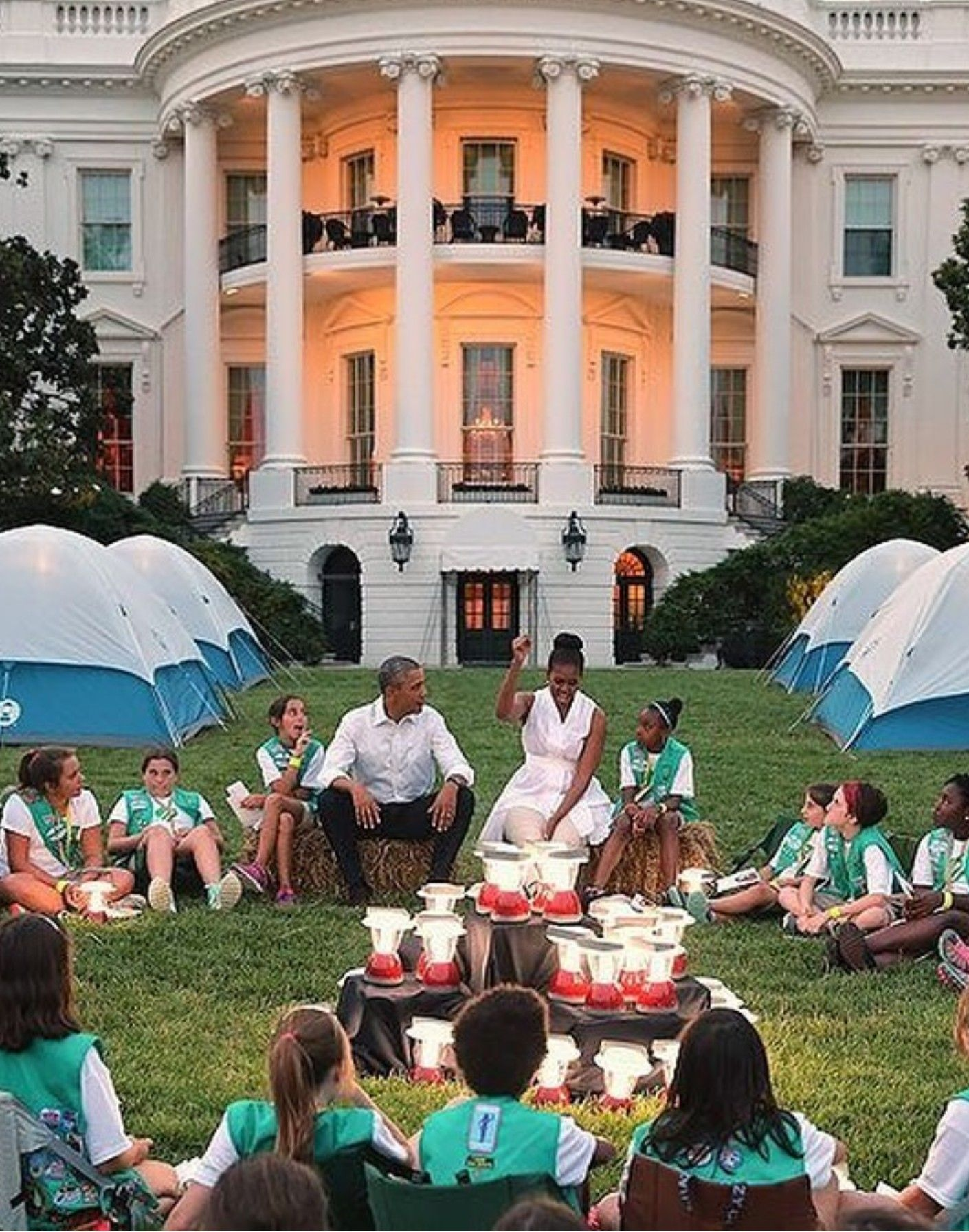 Good times at the WH with the Obamas