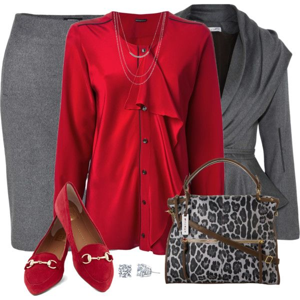 Red Suede Shoes, created by daiscat on Polyvore