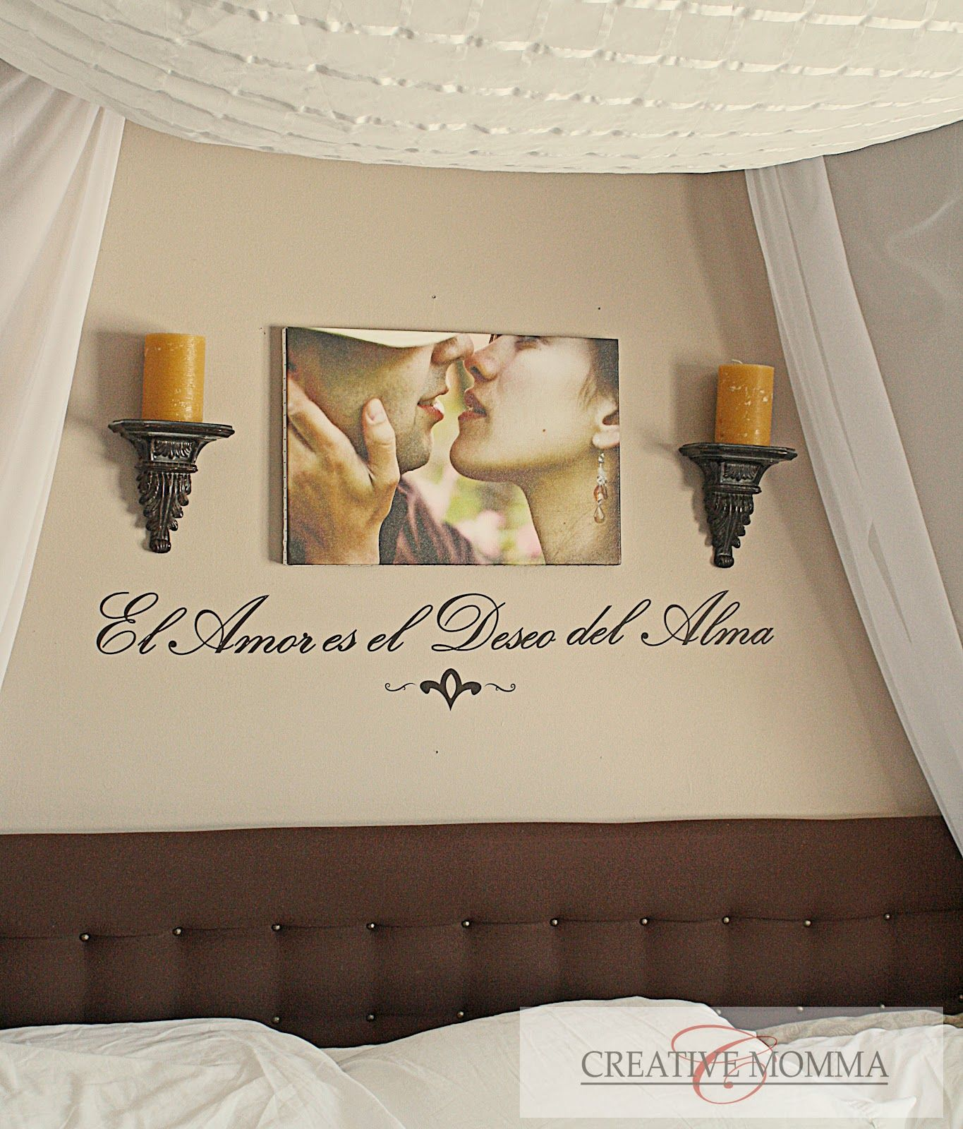 Bedroom Wall Decor  Wall Decor  For The Home  Pinterest  Wall Custom Bedroom Wall Decorating Ideas Review