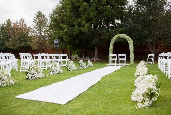 decoracion ceremonia civil en jardin | civil | pinterest | outdoor