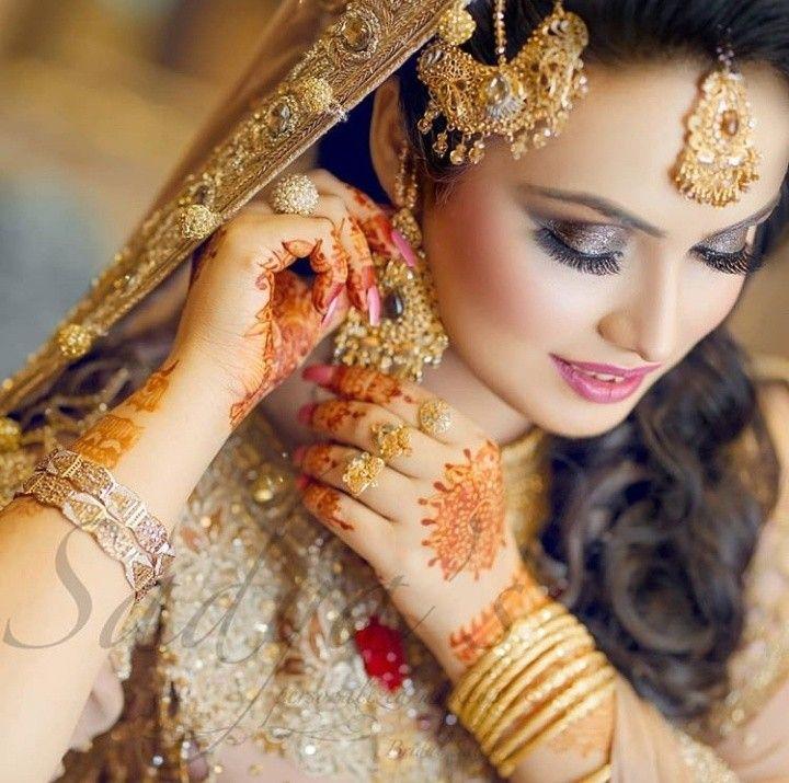 Bridal fashion | Mehndi brides, Bridal makeup, Bride