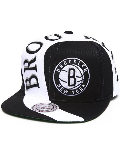 Brooklyn Nets NBA Fitted hat cap Mitchell /& Ness//New York