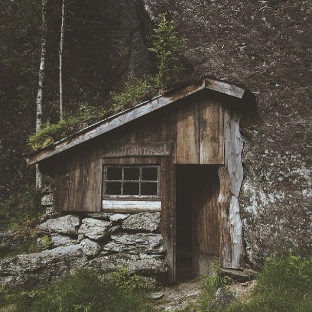 To the creator of this; May you rest in your awesomeness.   #getoutdoors  Rock solid Norwegian mountain cabin by Johannes Grødem