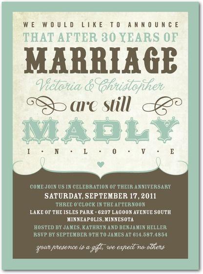 Anniversary Invitations Love Proclamation By Tiny Prints