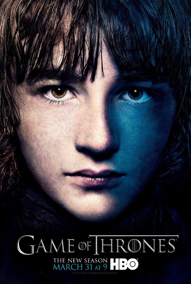 Game Of Thrones Season 3 Poster Bran Stark With Images Hbo
