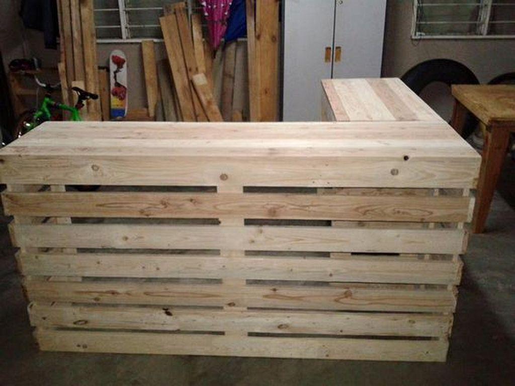 30 Diy Wooden Pallet Bar Designs To Transform Your Kitchen