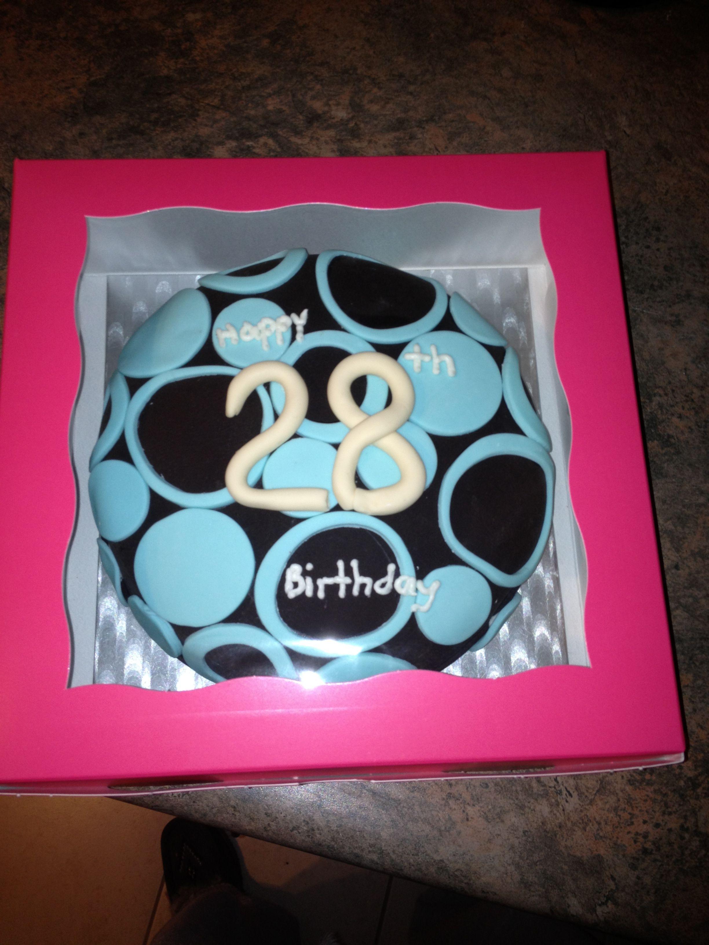 Tanyas 28th Birthday Cake
