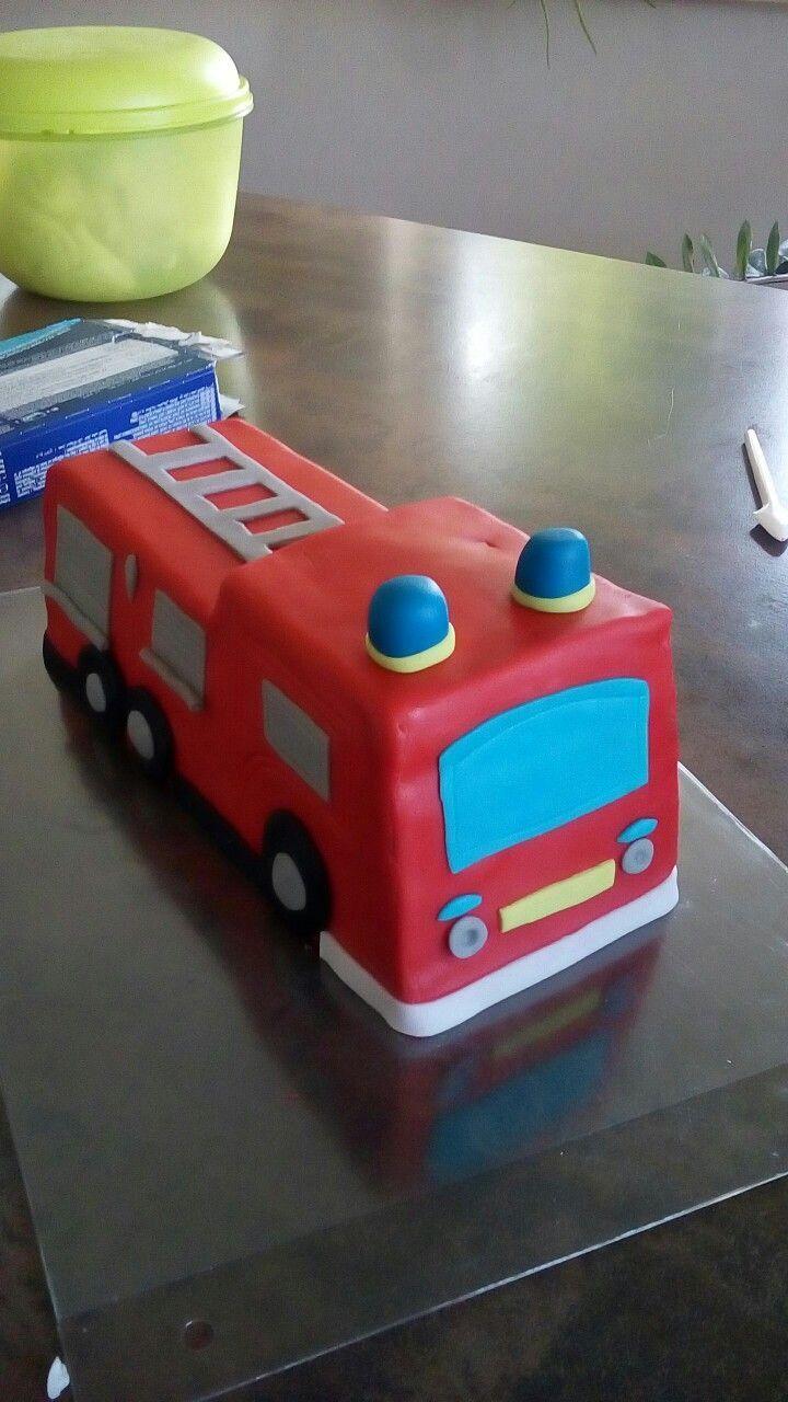 Feuerwehr kuchen feuerwehr kuchen AutosKuchen in