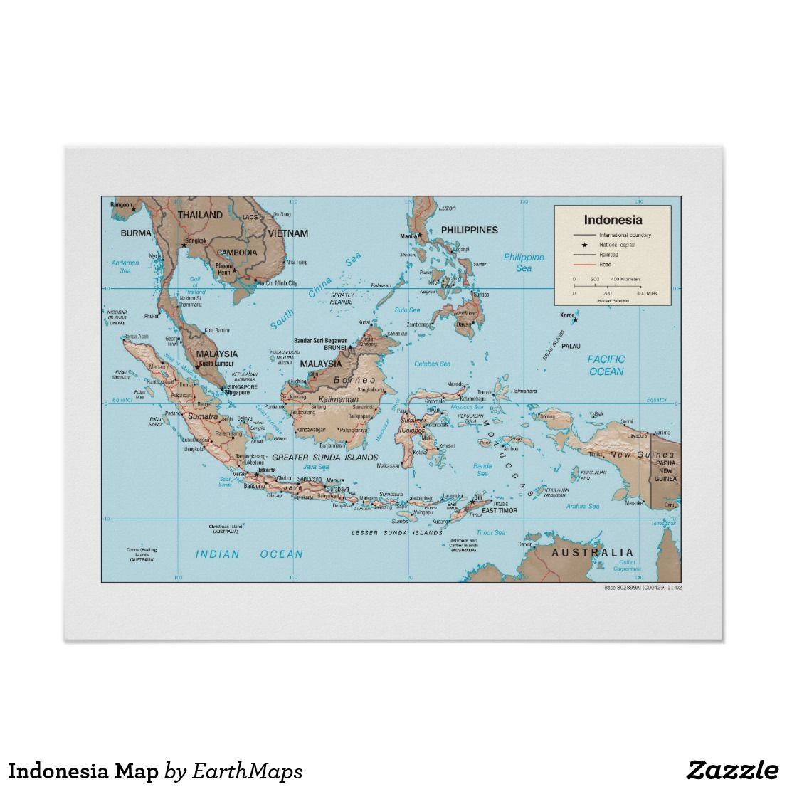 Map Of Asia Indonesia.Indonesia Map Poster Indonesia Map Poster Map Poster Map