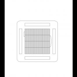 Air Conditioning Cassette Cad Block Mechanical Cad Blocks