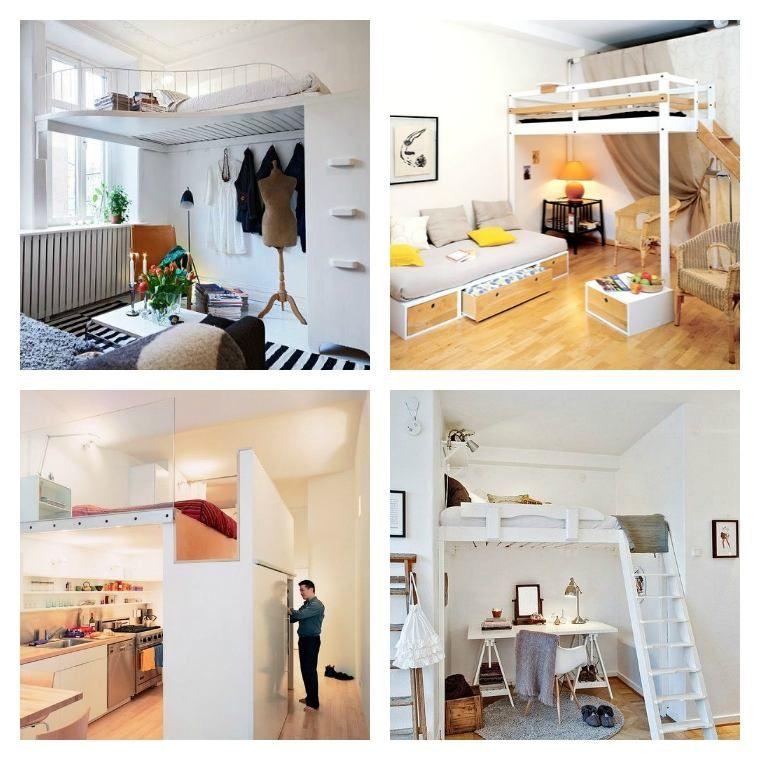 Lit Mezzanine Adulte Et Aménagement De Petits Espaces | Mezzanine