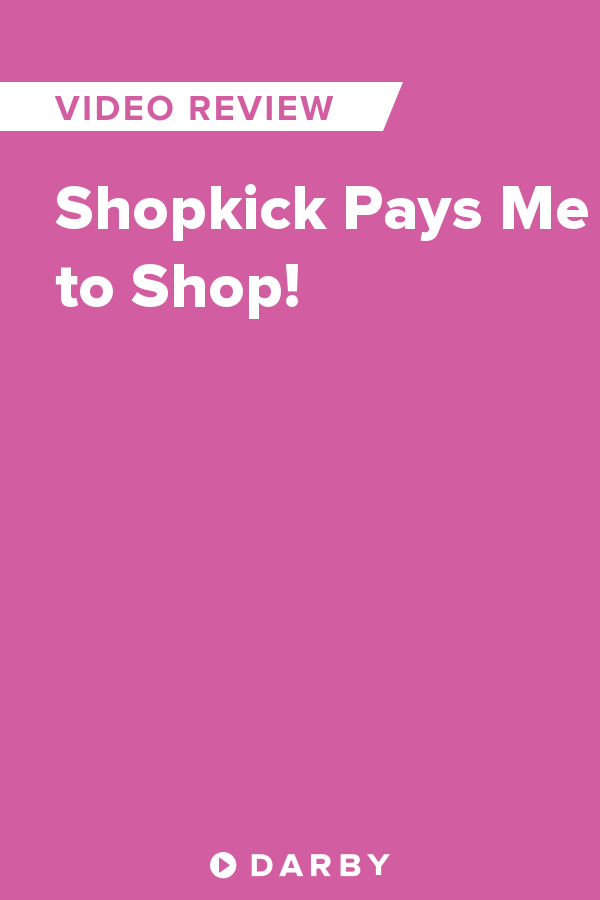 Shopkick Pays Me To Shop I Love Earning Kicks From Its Like They