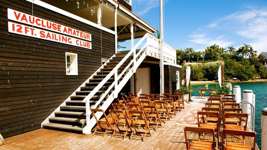 vaucluse yacht club wedding