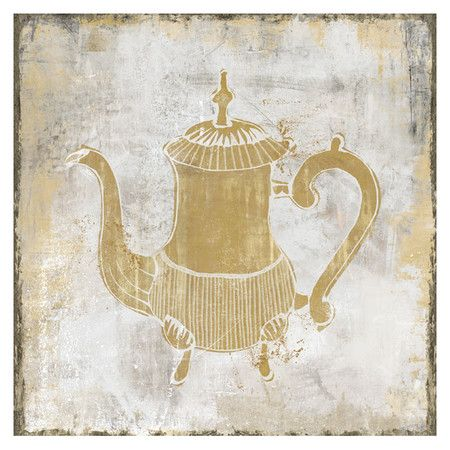 I pinned this Tea Party Wall Art I from the Walls of Whimsy event at ...