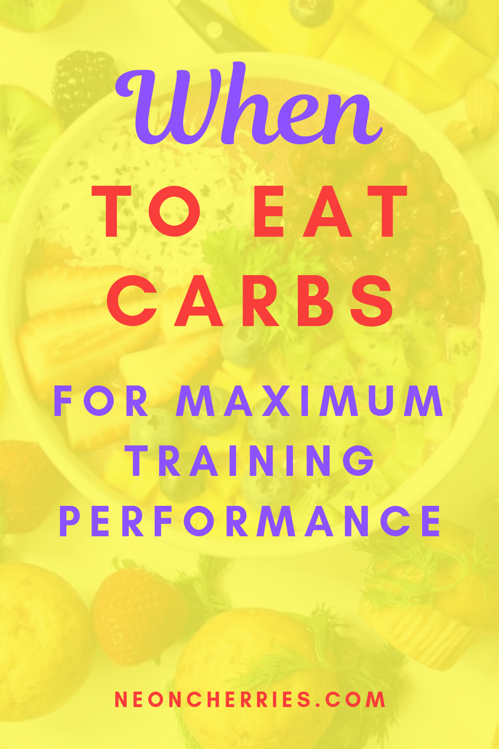 Curious about when to eat carbs? This guide reveals everything you need to know to help your body pe...