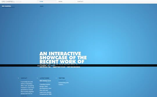 55 Beautifully Blue Web Designs To Inspire You Web Design Ledger Blue Website Web Design Blue