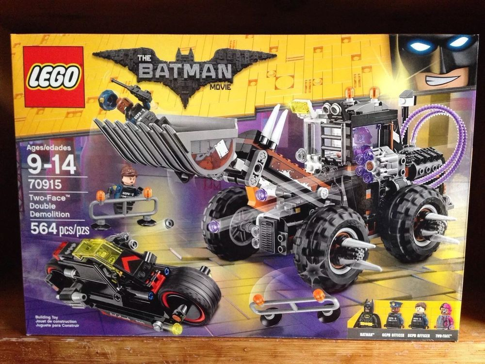 Lego Double 564 70915 Two Pieces Movie The Demolition Batman Face 8mnOvNy0w
