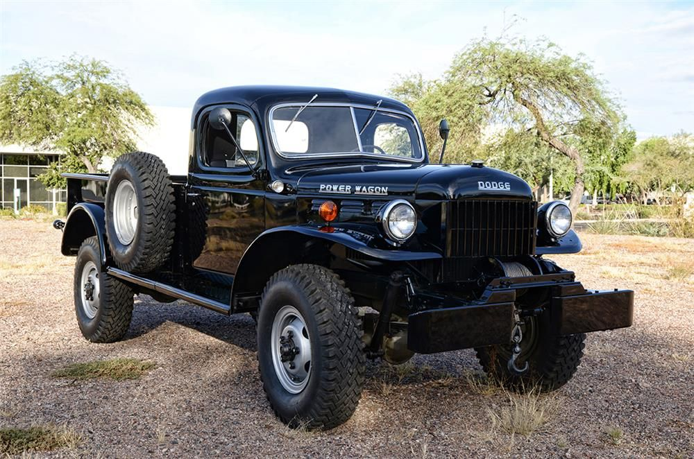 For Sale At Auction This 1953 Power Wagon Is The Original Dodge Drive Truck That Has Earned A Reputation Tremendous Pulling And Stamina