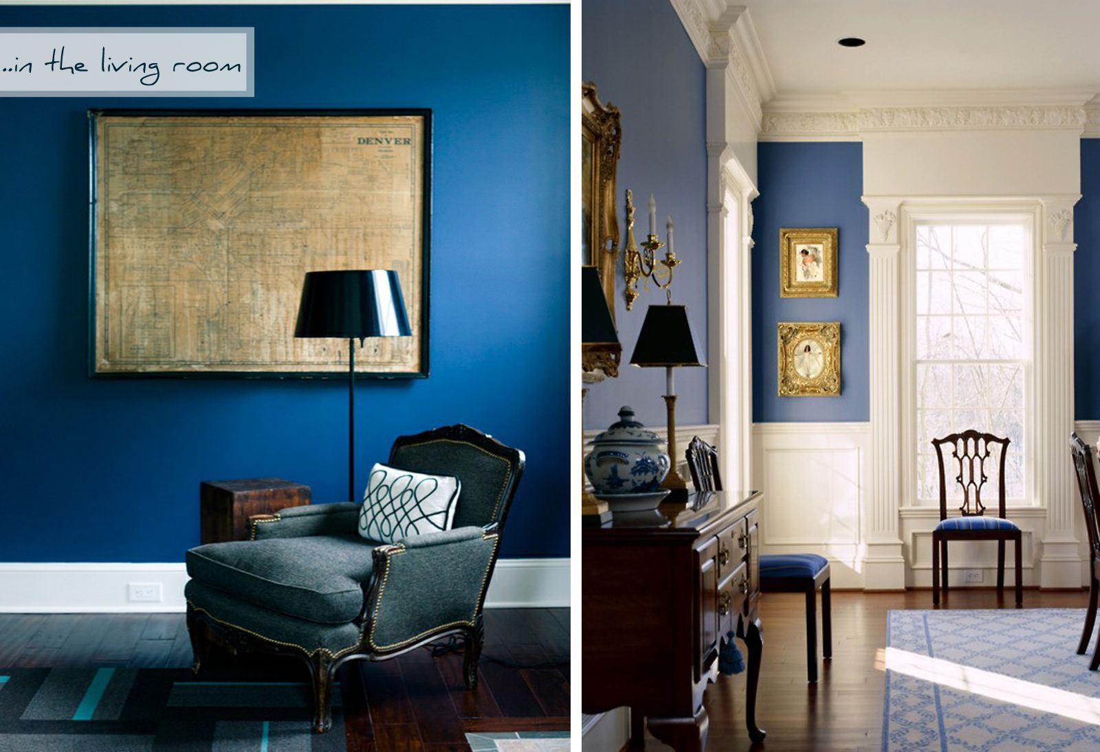 Blue Living Room Walls Unidentified Lifestyle By Maria Matiopoulou Styling