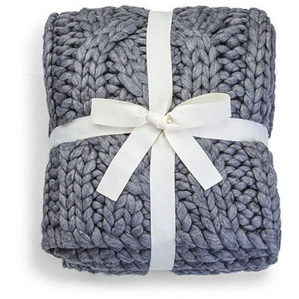 Ugg Throw Blanket Prepossessing Ugg Oversized Knit Blanket $345 ❤ Liked On Polyvore Featuring 2018