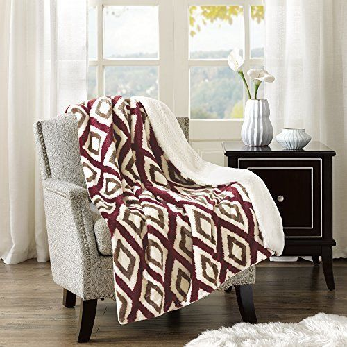 Throw Blankets For Couches Extraordinary Cute Plush Sherpa Blanket Throw Soft Warm Comfort Sofa Couch Relax Design Ideas