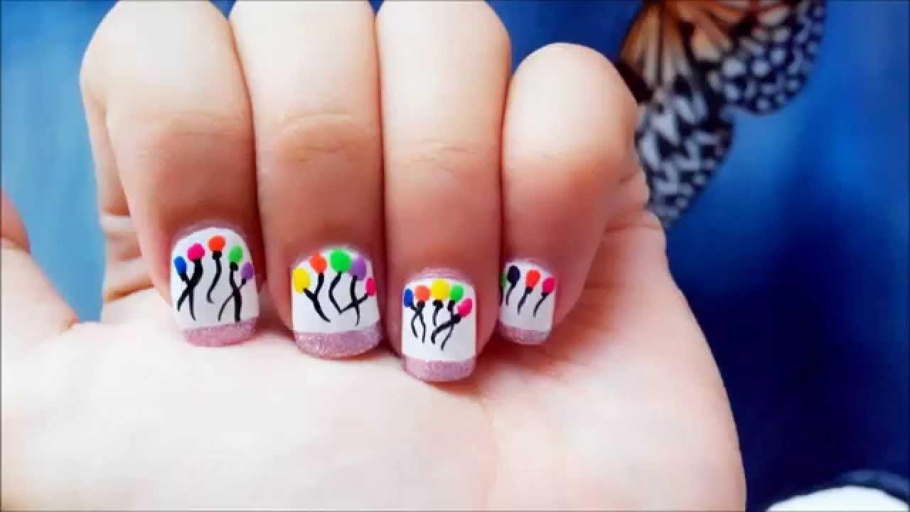 Nailart Tutorial G Hannelius #hannelius #nailart #tutorial   Nagel ...