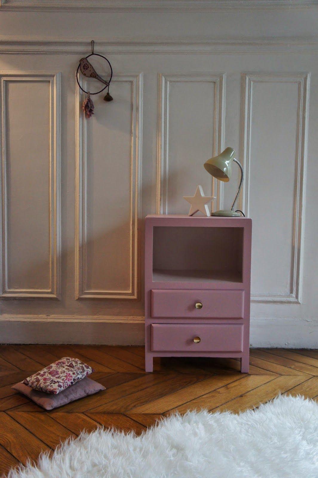 atelier petit toit le chevet vintage d 39 iris du neuf avec du vieux pinterest chevet. Black Bedroom Furniture Sets. Home Design Ideas