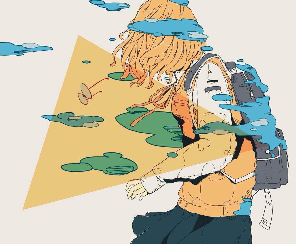 Anime Aesthetic Art Hoe