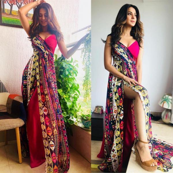 Jennifer Winget Hina Khan Divyanka Tripathi Dahiya Best And Worst Dressed Of Tv This Week Fashion Designer Dresses Indian Dresses