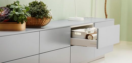 IKEA METOD System Schubladenfronten wie z. B. VEDDINGE ...