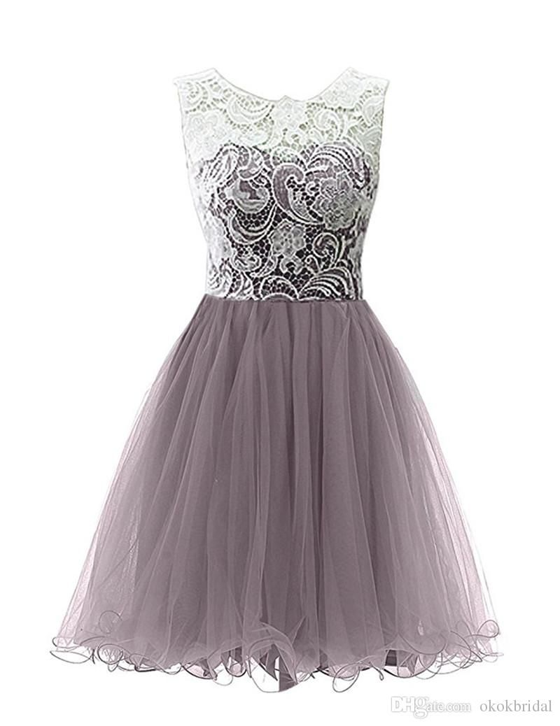 Dress Party Juniors 2017 Graduation Dresses For 8th Grade Cheap Cap